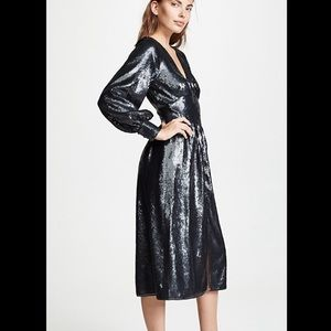 NWT JOIE Kyria B Sequin Holiday Party Dress
